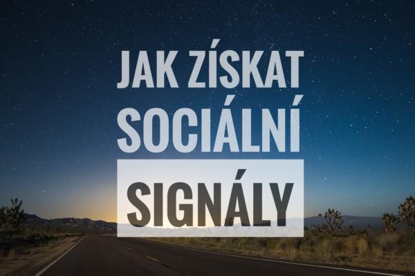 sociální signály